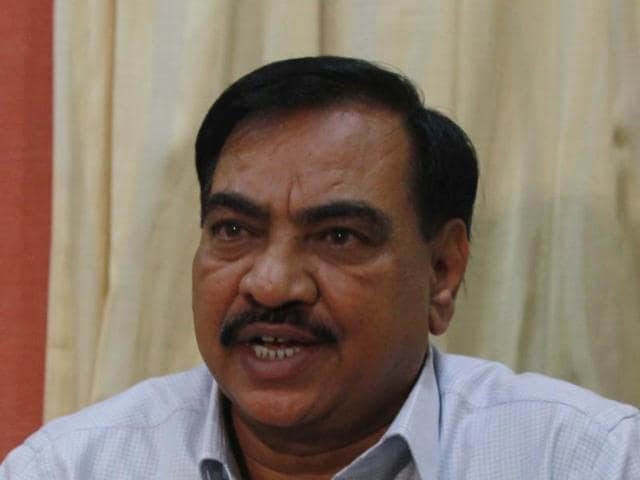 Khadse,BJP,Bhosari land deal