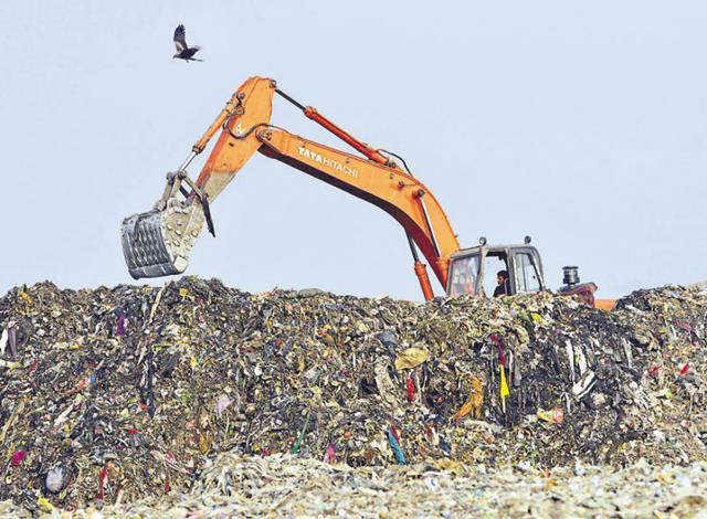 Solid Waste treatment,Badhwari,MCG