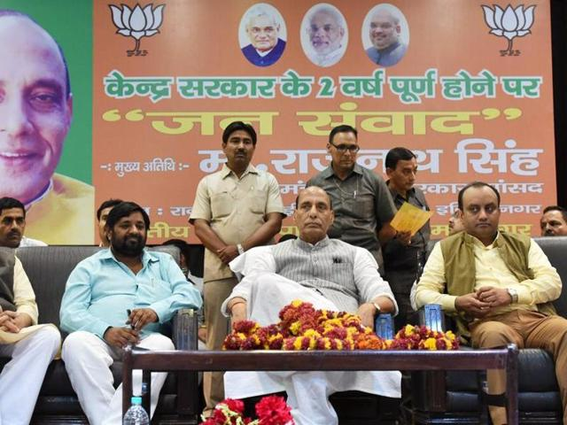 Union home minister Rajnath Singh said there was no dearth of deserving leaders in the BJP.