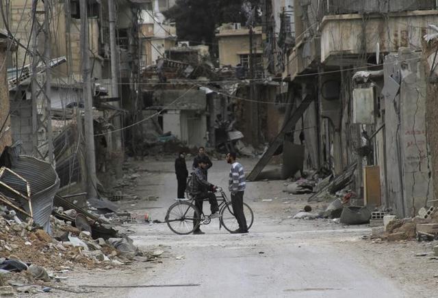 Daraya,Syrian Red Cross,United Nations