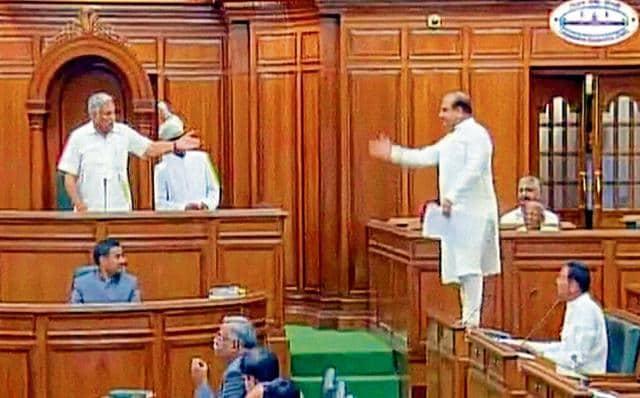 Delhi Assembly,vijender gupta,arvind kejriwal