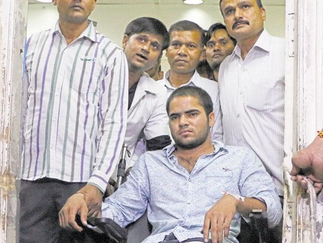 Ankit Gurjar is wanted in 14 cases, including three cases of murder and extortion. He is the prime suspect in the murder of Bharatiya Janata Party leader Vijay Pandit.