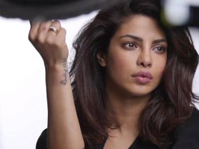 Priyanka will soon be seen in Hollywood film Baywatch. (HTPhoto)