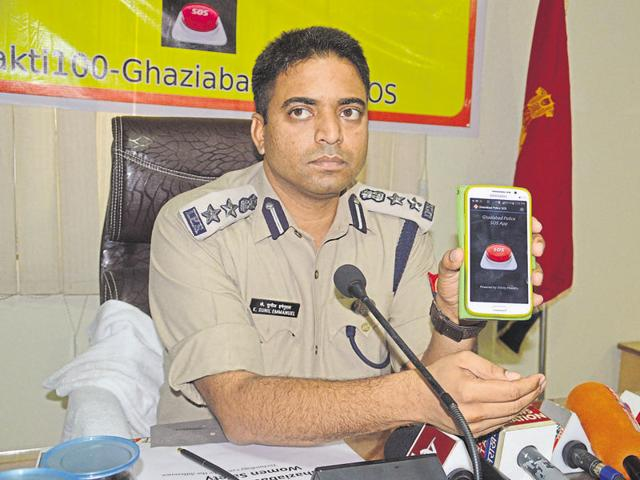 The app, Shakti100-Ghaziabad police SOS, can be downloaded on android platforms from Google play store.