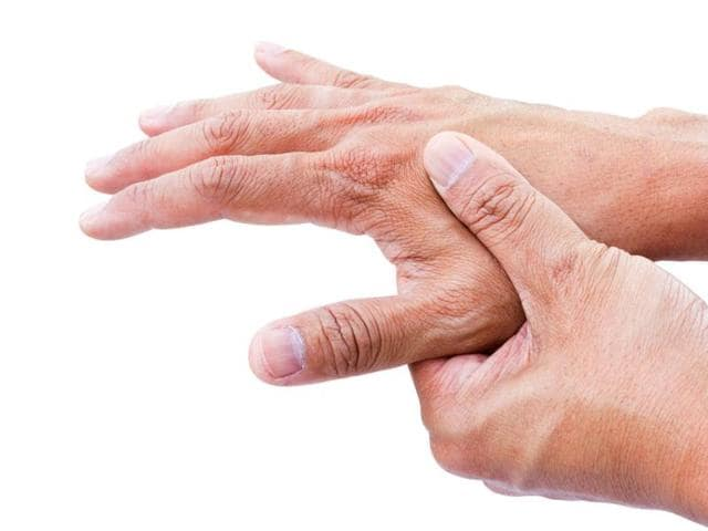 People involved in repetitive manual work over a sustained period of time are at a greater risk of developing rheumatoid arthritis.