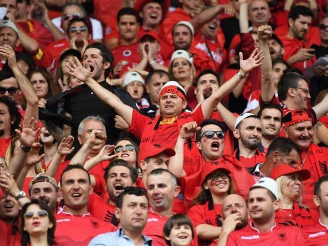 Albania vs Switzerland,Euro 2016,Granit Xhaka