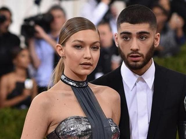 On May 2, 2015 Gigi Hadid and the former One Direction band member Zayn Malik made their stylish red carpet debut as a couple at the Met Gala. (AFP)