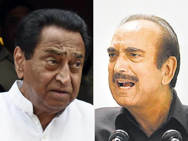 Kamal Nath and Ghulam Nabi Azad were on Sunday appointed general secretaries incharge of Punjab and  Uttar Pradesh.