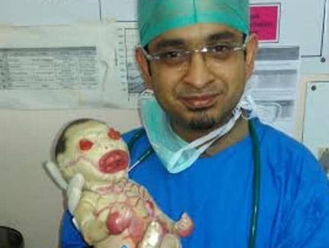Nagpur,Congenital Disorder,Harelquin Ichthyosis