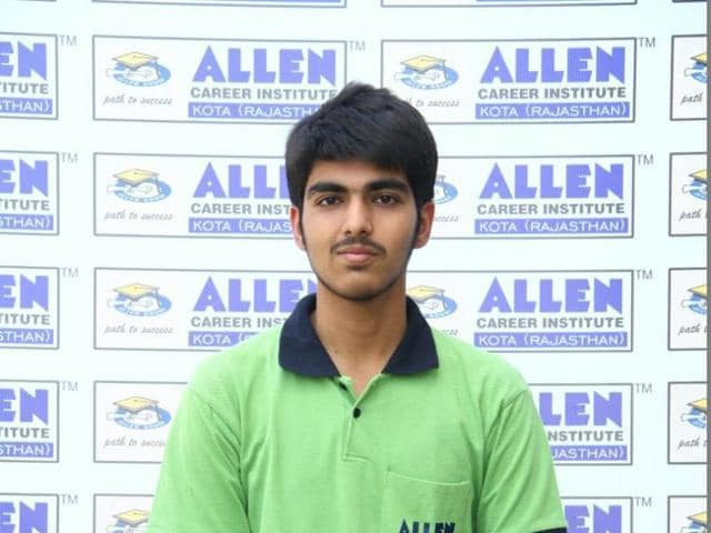 Bhavesh Dhingra from Haryana's Yamunanagar scored the second position in the Joint Entrance Examination (JEE) Advanced 2016.