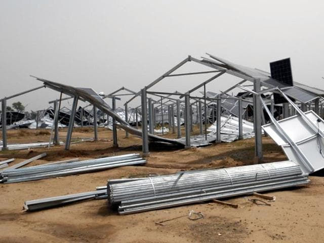 Nangla village,Acme Cleantech Solutions Ltd,solar power plant