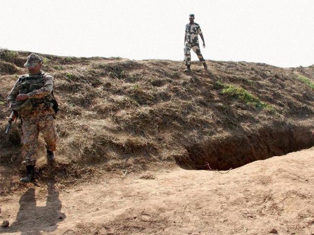 The human skeleton was found near a BSF camp, about 10 km from Imphal.