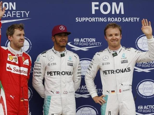 Mercedes driver Lewis Hamilton took pole ahead of Sunday's Canadian Grand Prix to put pressure on teammate and Championship leader Nico Rosberg.