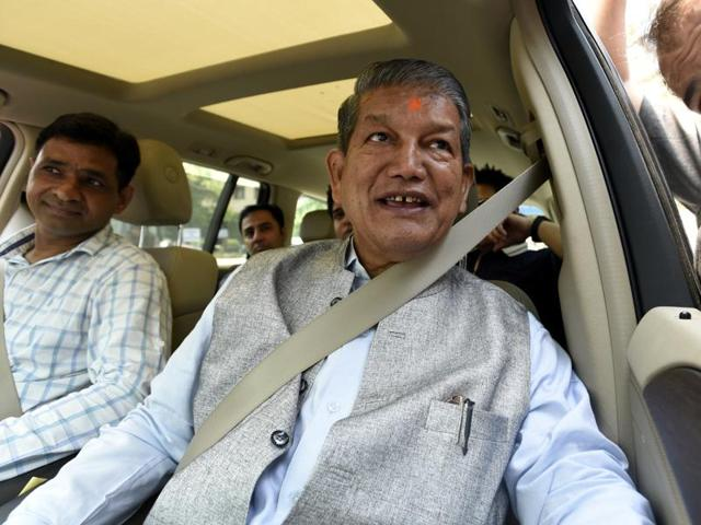 Bhandari supposedly offered to vacate his seat for chief minister Harish Rawat (in pic) two years ago.