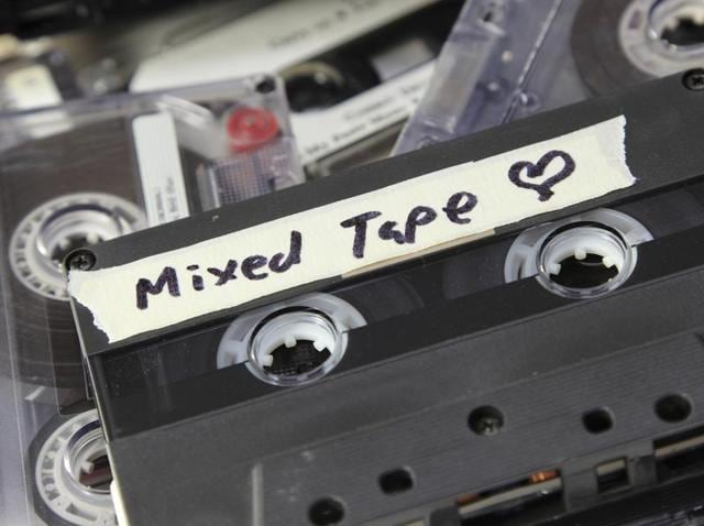 The discussion soon veered towards music, and since the evening was all about nostalgia, we couldn't be far from the word 'cassette'.