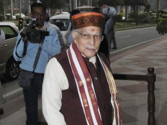 File photo of senior BJP leader Murli Manohar Joshi . The former party president has not been invited to the two-day national executive meet being held in Allahabad.