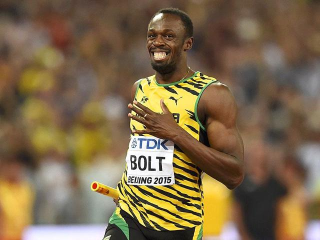 Usain Bolt had a slight hamstring tear and had to pull out of the 100m final at the Jamaican Olympic trials.