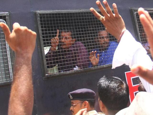 A special SIT court  convicted 24 out of the 66 accused in the 2002 Gulberg society communal riots and acquitted 36 accused in the case in Ahmedabad, India on June 02, 2016 .