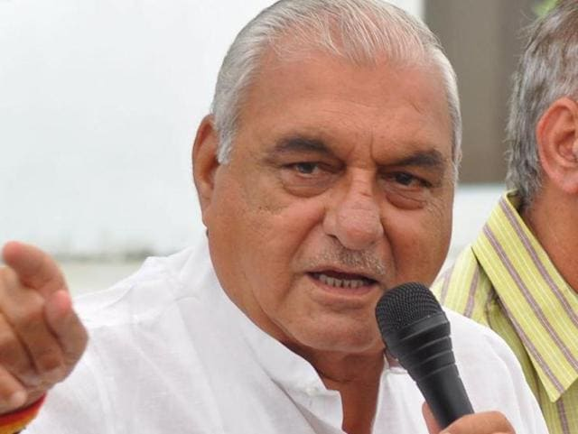 Former Haryana chief minister Bhupinder Singh Hooda and he was apparently not happy with the Congress' Rajya Sabha nominee from his state.