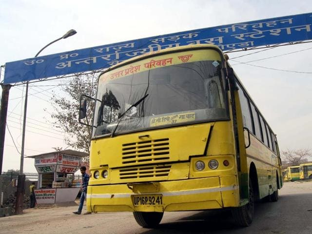 Three men were booked on Sunday for allegedly looting cash and valuables from passengers of a UP roadways bus in Muzaffarnagar.