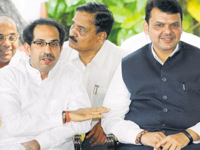 The BJP's  main ally-turned-enemy Shiv Sena is keen on getting one cabinet portfolio and two junior ministerial berths.