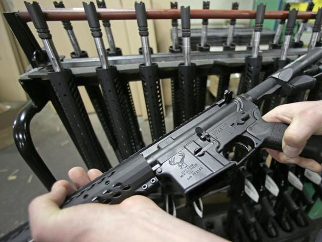 The AR-15 is the civilian version of the M-16 assault rifle and a reliable estimate suggests there are around 5 million of these weapons in the US, making it America's most popular rifle.