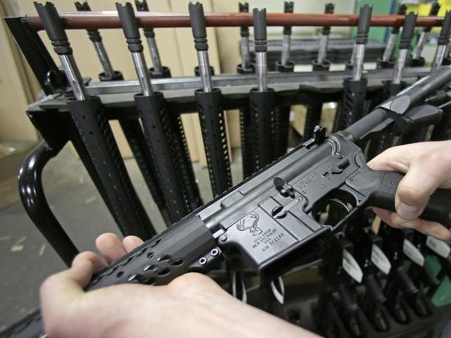 Orlando shooter,AR-15,Sandy Hook
