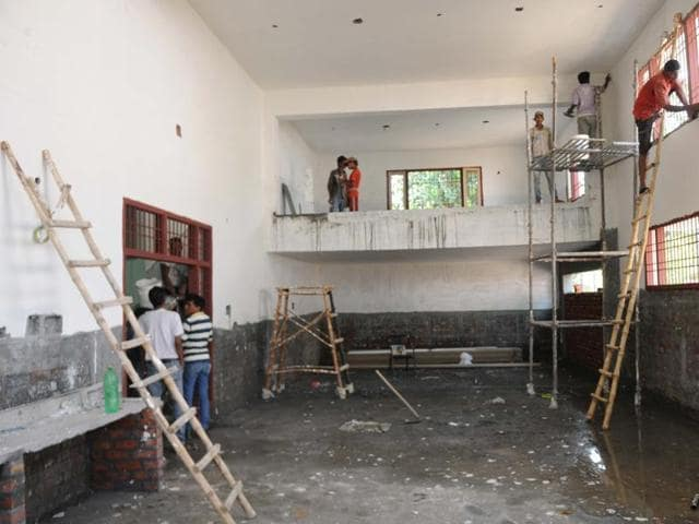 A new one with facilities in consonance with Medical Council of India's rules is still being built.