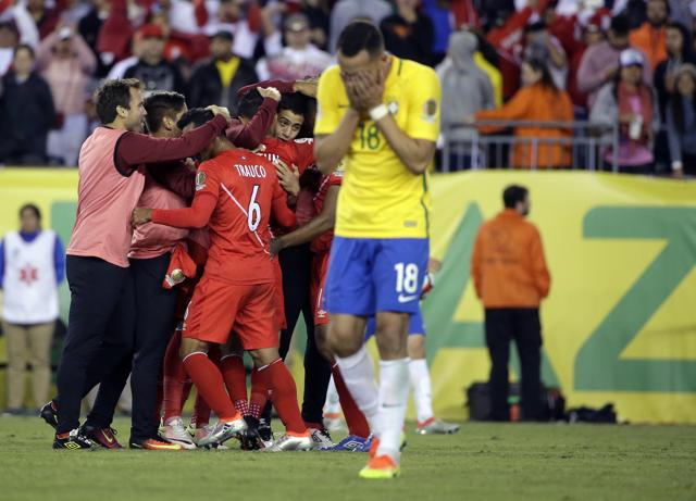 Loss has put a question mark over Dunga's continuation as coach of Brazil team.