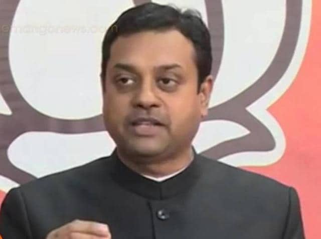 """BJP spokesperson Sambit Patra said Kejriwal was 'frustrated"""" that his flying ambition has crash-landed and asked him not to make the President's decision a """"political issue""""."""