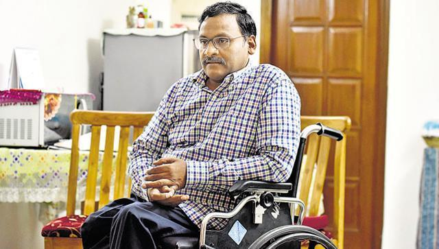 Delhi University professor GN Saibaba.
