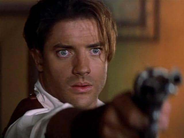 In The Mummy, Fraser played Rick O'Connell.