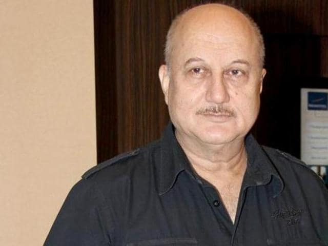 Kher atsrted his career in Bollywood with 1982 film Aagman. (HT Photo)