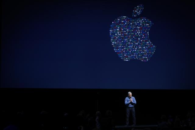 Craig Federighi, Senior Vice President of Software Engineering for Apple Inc, discusses the Siri desktop assistant for Mac OS Sierra at the company's World Wide Developers Conference in San Francisco, California.