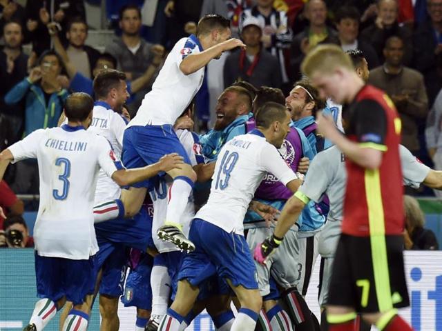 Belgium vs Italy,Euro 2016,Marc Wilmots