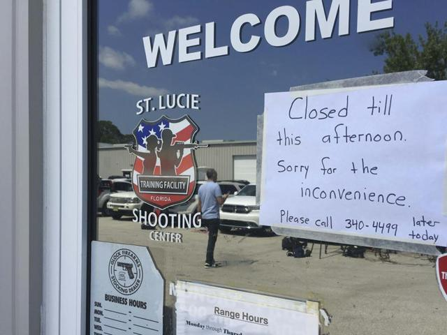 The St. Lucie Shooting Center where Omar Mateen, responsible for the massacre of 49 people in a gay club in Orlando, purchased two gun in Port St. Lucie, Florida, U.S. June 13, 2016.
