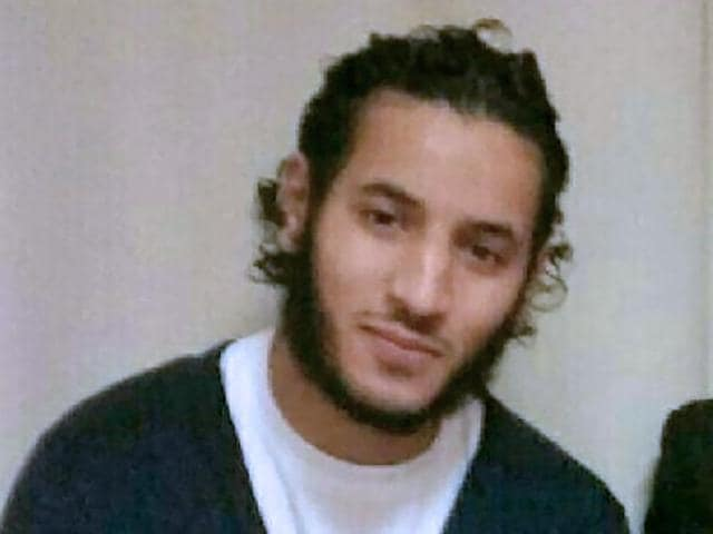 A photo taken off Facebook shows an undated photo of French Larossi Abballa, 25.