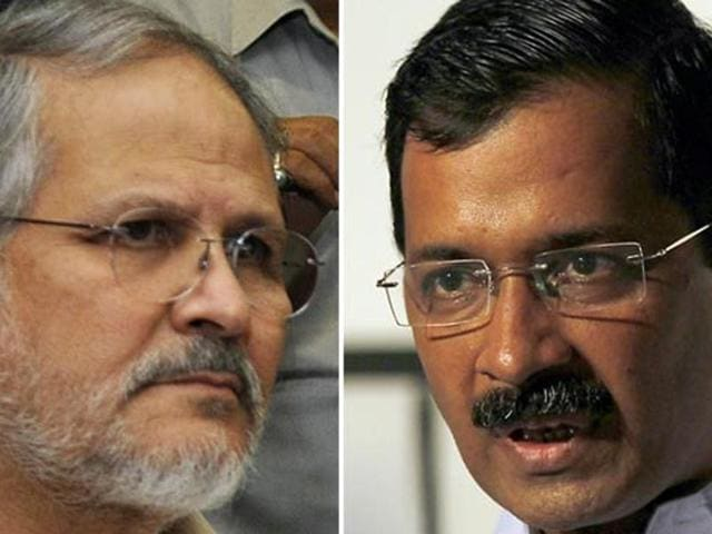 Arvind Kejriwal mocked the lieutenant governor Najeeb Jung, saying that Jung will never become the vice president.