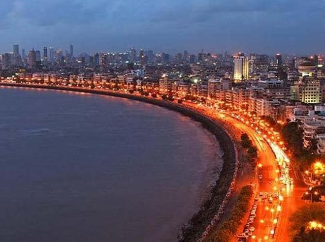 The art work at Mumbai's Marine Drive is one among the many public installations that the foundation has initiated to beautify public spaces across Mumbai.