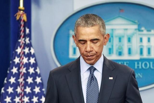 US President Barack Obama speaks about the Orlando shooting at the White House in Washington on Sunday.