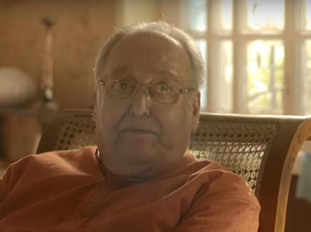 Soumitra Chatterjee said it was for the spectators to judge if something needs to be censored.