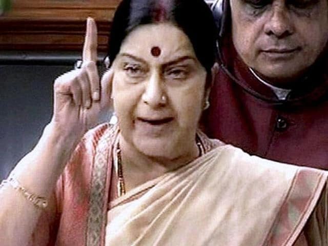 Sushma Swaraj is known for her promptness on social media in helping people in distress.