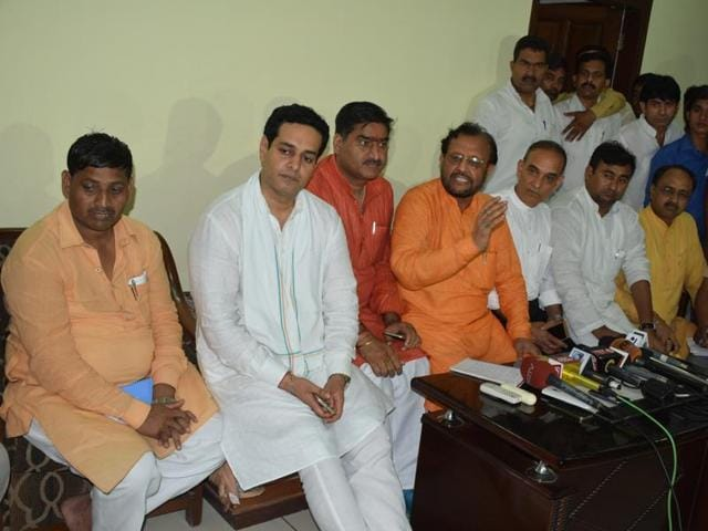 A BJP team visited Kairana on Wednesday.