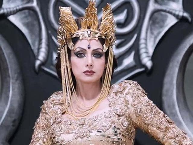 Sridevi was last seen in Tamil film Puli. (YouTube)