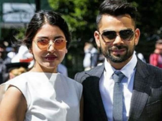 Anushka Sharma and Virat Kohli were seen together at the Chandigarh airport.