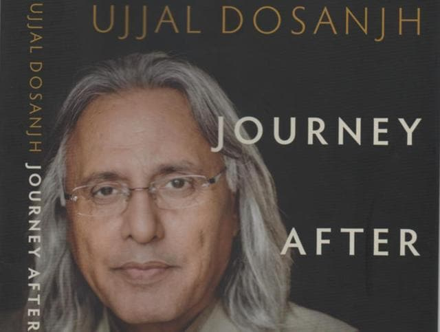 "Cover of Ujjal Dosanjh's memoir ""Journey After Midnight: India, Canada and the Road Beyond""."