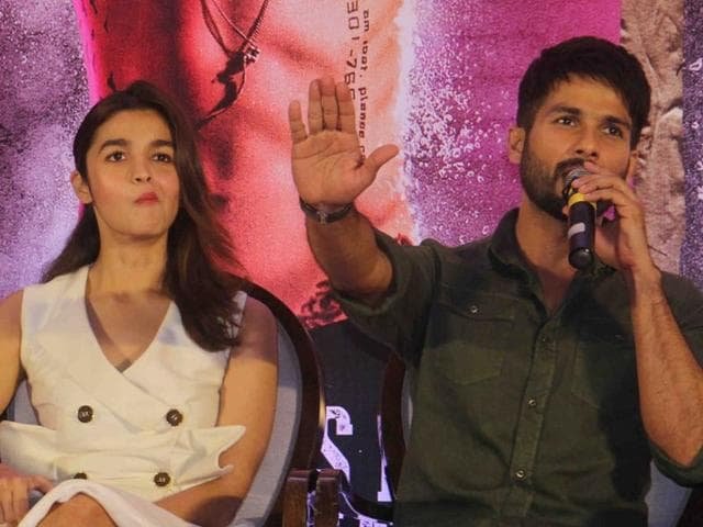 """Shahid Kapoor's controversial film """"Udta Punjab"""" is finally set for this Friday release, and the actor has urged everyone to stop judging films without watching them. """"All the controversies were created without viewing it. Our names and images are at stake. Why would we do that to ourselves?,"""" Shahid told reporters at the """"Udta Punjab"""" press conference in Mumbai on Tuesday. Directed by Abhishek Chaubey, """"Udta Punjab"""" also features Kareena Kapoor Khan and Diljit Dosanjh."""