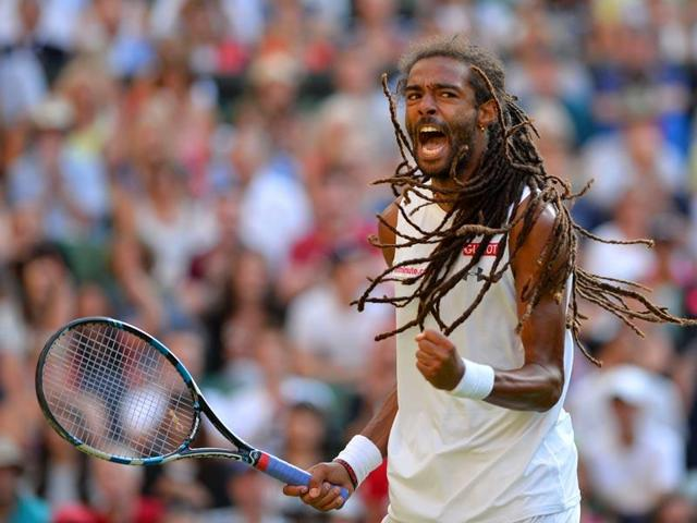 Dustin Brown's defeat of Nadal was only his third over a top-10 ranked player in his career.