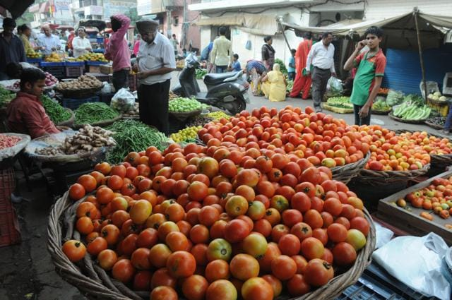 A month ago, when the local season was at its peak, tomatoes at Rs 2 per kg had few takers in Gurgaon's wholesale market. Farmers were forced to throw away their produce and some even scattered it on the roads to protest against the government for failing to come to their rescue.