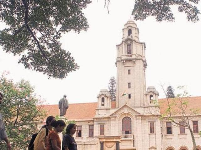 A file photo of Indian Institute of Science (IISc), Bangalore.